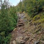 Escaleras y sirga